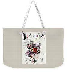 Mademoiselle Cover Featuring An Illustration Weekender Tote Bag by Helen Jameson Hall