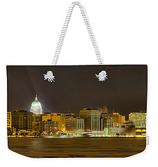 Madison - Wisconsin City  Panorama - No Fireworks Weekender Tote Bag