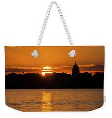 Madison Sunset Weekender Tote Bag