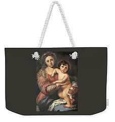 Madona And Child Weekender Tote Bag