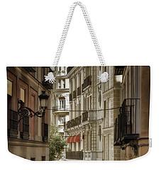 Madrid Streets Weekender Tote Bag