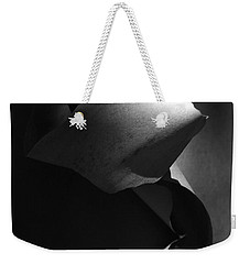 Madrona Bark Black And White Weekender Tote Bag
