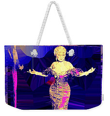 Mae West. Ladies Embrace Your Curves Weekender Tote Bag