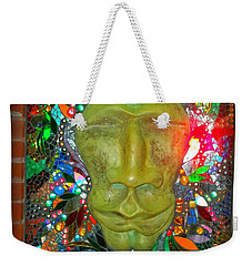 Weekender Tote Bag featuring the photograph Magic Mirror In Lomoish by Kelly Awad