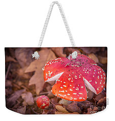 Magic Mushroom Weekender Tote Bag by Ray Warren