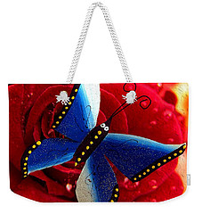 Magic On The Wall Weekender Tote Bag