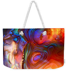 Magic Shell 2 Weekender Tote Bag by Rona Black