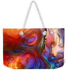 Magic Shell Weekender Tote Bag by Rona Black