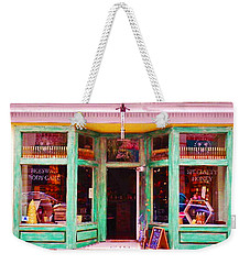Weekender Tote Bag featuring the photograph Magical Beeswax Shop by Patricia Greer