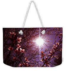 Weekender Tote Bag featuring the photograph Magical Blossoms by Vicki Spindler