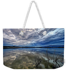 Magical Lake Weekender Tote Bag
