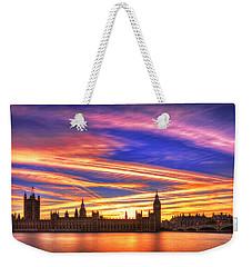 Magical London Weekender Tote Bag by Midori Chan