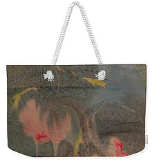 Weekender Tote Bag featuring the painting Magical by Mike Breau