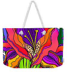 Magical Mystery Garden Weekender Tote Bag