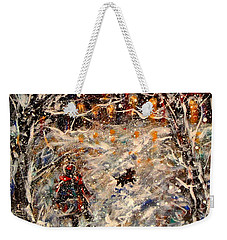 Magical Night Weekender Tote Bag by Natalie Holland