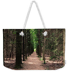 Weekender Tote Bag featuring the photograph Magical Path by Bruce Patrick Smith