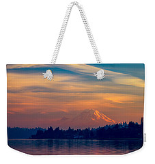 Magical Sunset At The Lake Weekender Tote Bag