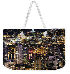 Weekender Tote Bag featuring the photograph Magical Yaletown Harbor Mdxlix by Amyn Nasser