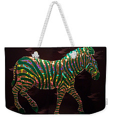 Magical Zebra  Weekender Tote Bag by Suhas Tavkar