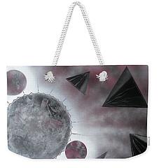 Magnetic Weekender Tote Bag