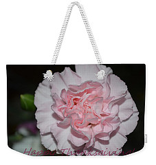 Magnetic Pink Weekender Tote Bag by Sonali Gangane