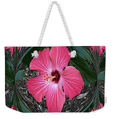 Weekender Tote Bag featuring the photograph Magnificent Flower by Oksana Semenchenko