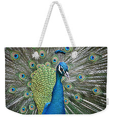 Weekender Tote Bag featuring the photograph Magnifique by Judith Morris