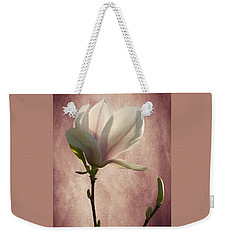 Magnolia Weekender Tote Bag by Ann Lauwers