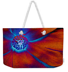 Weekender Tote Bag featuring the photograph Magnolia Electric by Susan Maxwell Schmidt