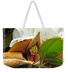 Magnolia Flowers - Flower Of Perseverance Weekender Tote Bag