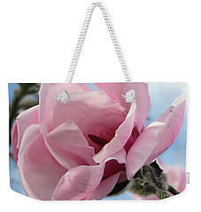 Magnolia In Spring Weekender Tote Bag by Jola Martysz
