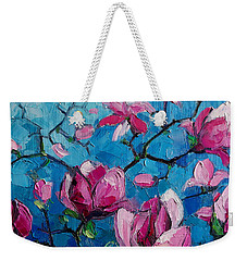 Magnolias For Ever Weekender Tote Bag