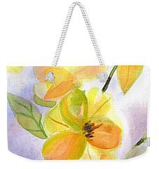 Magnolias Gentle Weekender Tote Bag by Kip DeVore