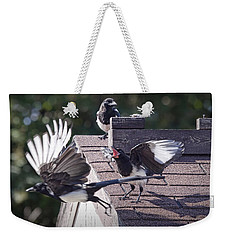 Magpie Dispute Weekender Tote Bag