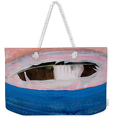 Magpie Original Painting Weekender Tote Bag