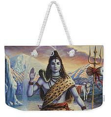 Mahadeva Shiva Weekender Tote Bag