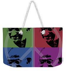 Mahatma Gandhi  Weekender Tote Bag by Jean luc Comperat