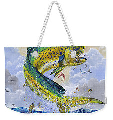 Mahi Hookup Off0020 Weekender Tote Bag by Carey Chen