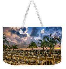 Mahogany Bay Beach-roatan-honduras Weekender Tote Bag