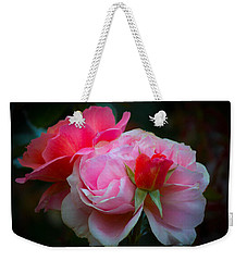 Weekender Tote Bag featuring the photograph Maiden Mother Crone by Patricia Babbitt