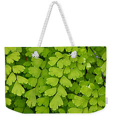 Maidenhair Fern Weekender Tote Bag by Art Block Collections
