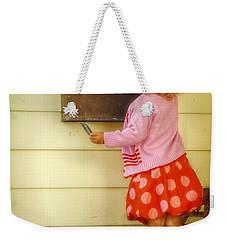 Mailing A Letter Weekender Tote Bag