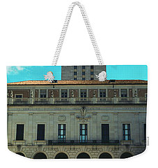 Main Building Of University Of Texas Weekender Tote Bag by Panoramic Images