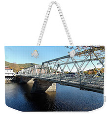 Main Street Bridge Shelbourne Falls  Weekender Tote Bag