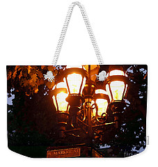 Main Street Gaslights - Abstract Weekender Tote Bag
