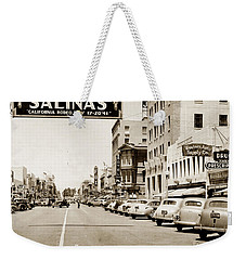 Main Street Salinas California 1941 Weekender Tote Bag