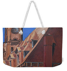 Main Street Station Weekender Tote Bag by Donna Tuten