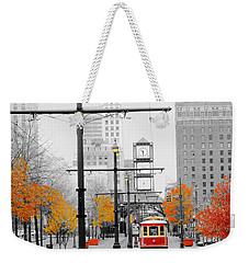 Main Street Trolley  Weekender Tote Bag