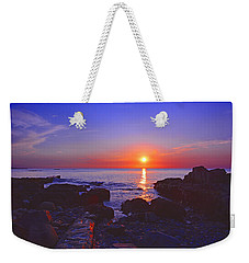 Maine Coast Sunrise Weekender Tote Bag
