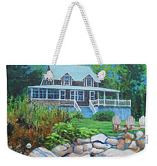 Maine Cottage Weekender Tote Bag